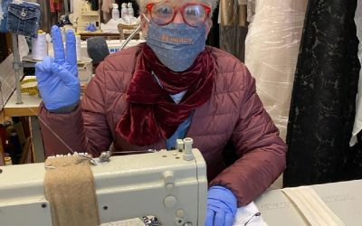 From Dressmaker to Mask Maker