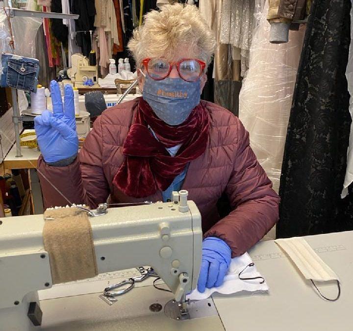 From Dressmaker to Mask Maker