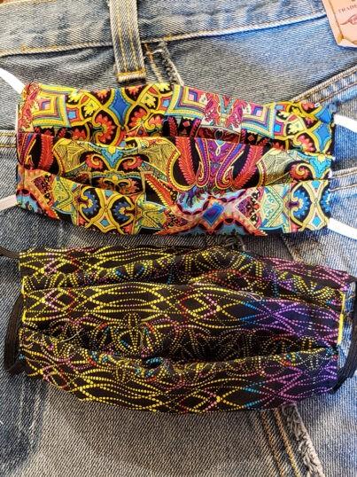 nancy-sinoway-covid-masks-psychedelic