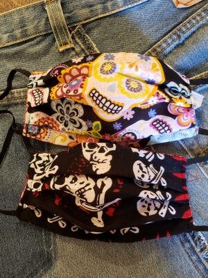 nancy-sinoway-covid-masks-skulls